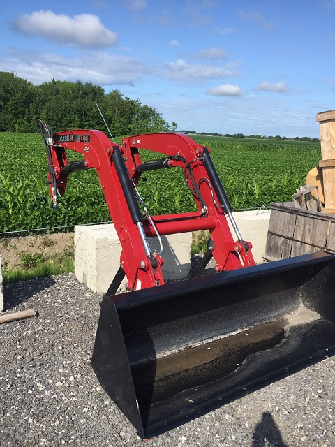 Chargeur frontal Case IH L630