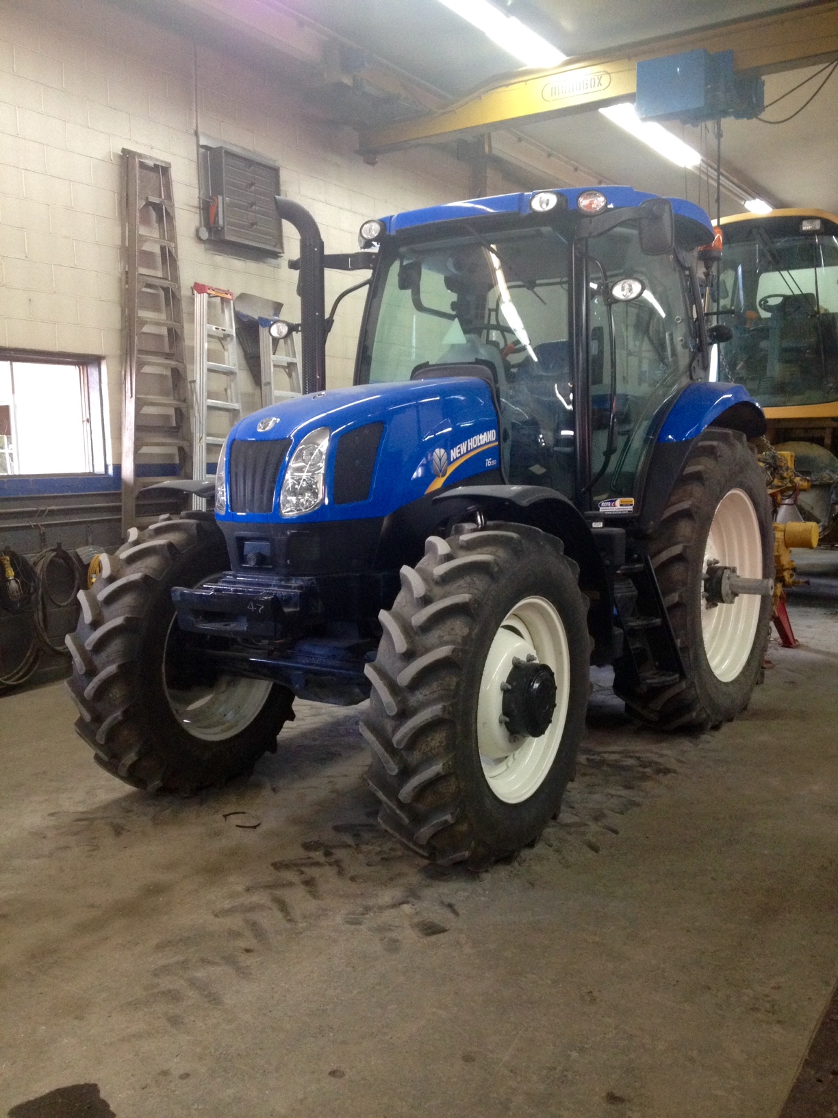 Tracteur New Holland T6-150