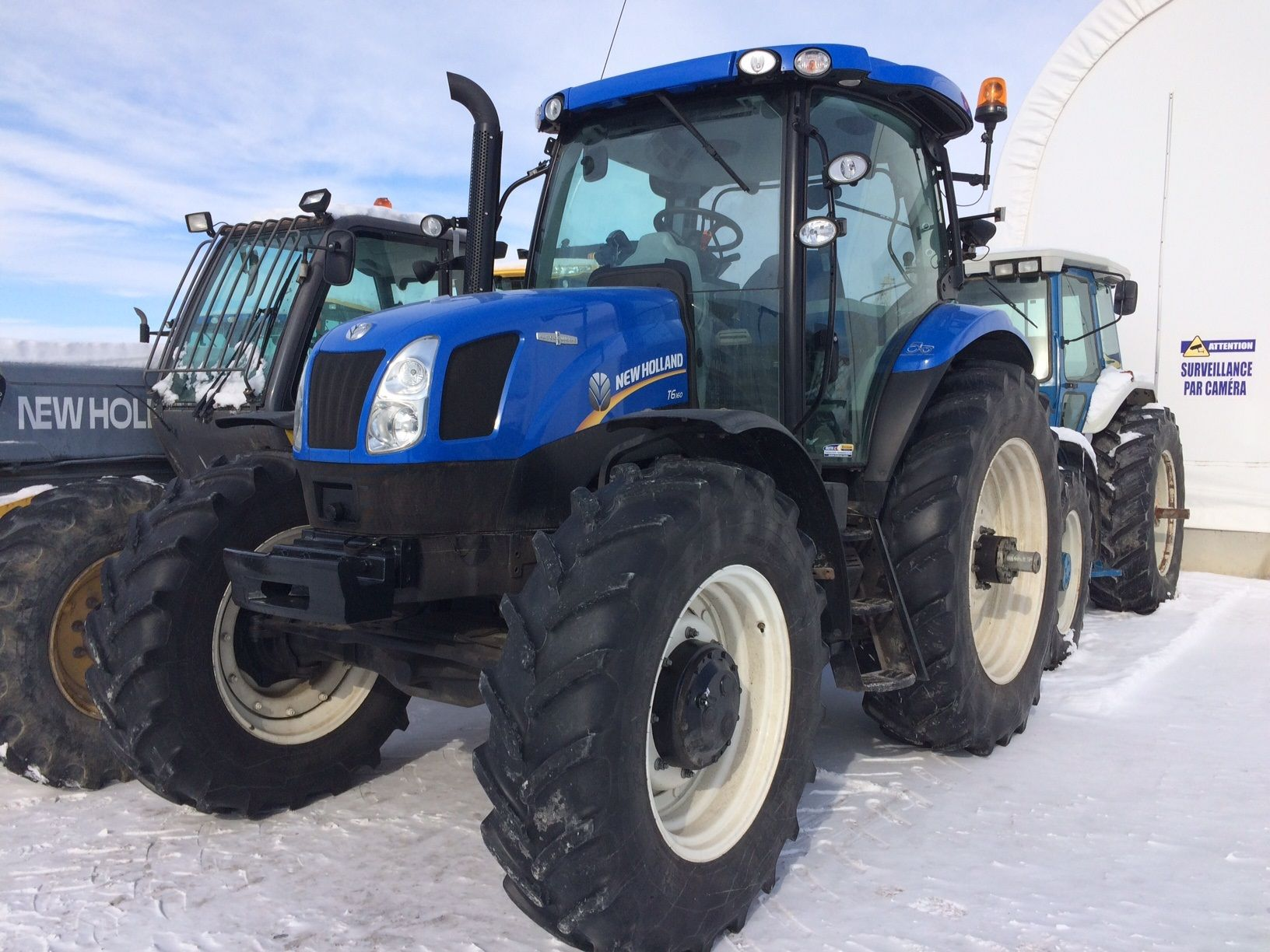 Tracteur New Holland T6-160
