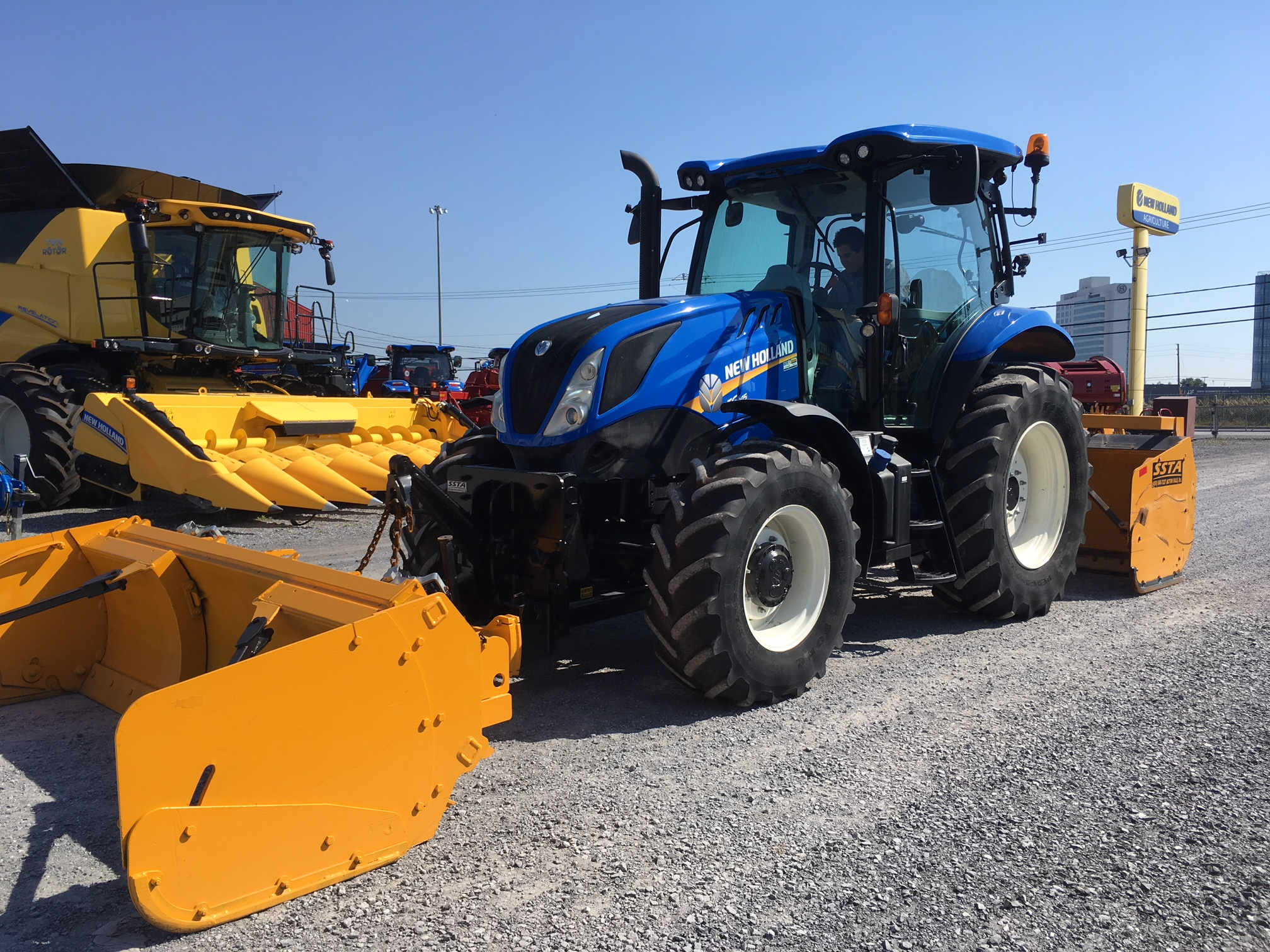 Tracteur New Holland T6.145