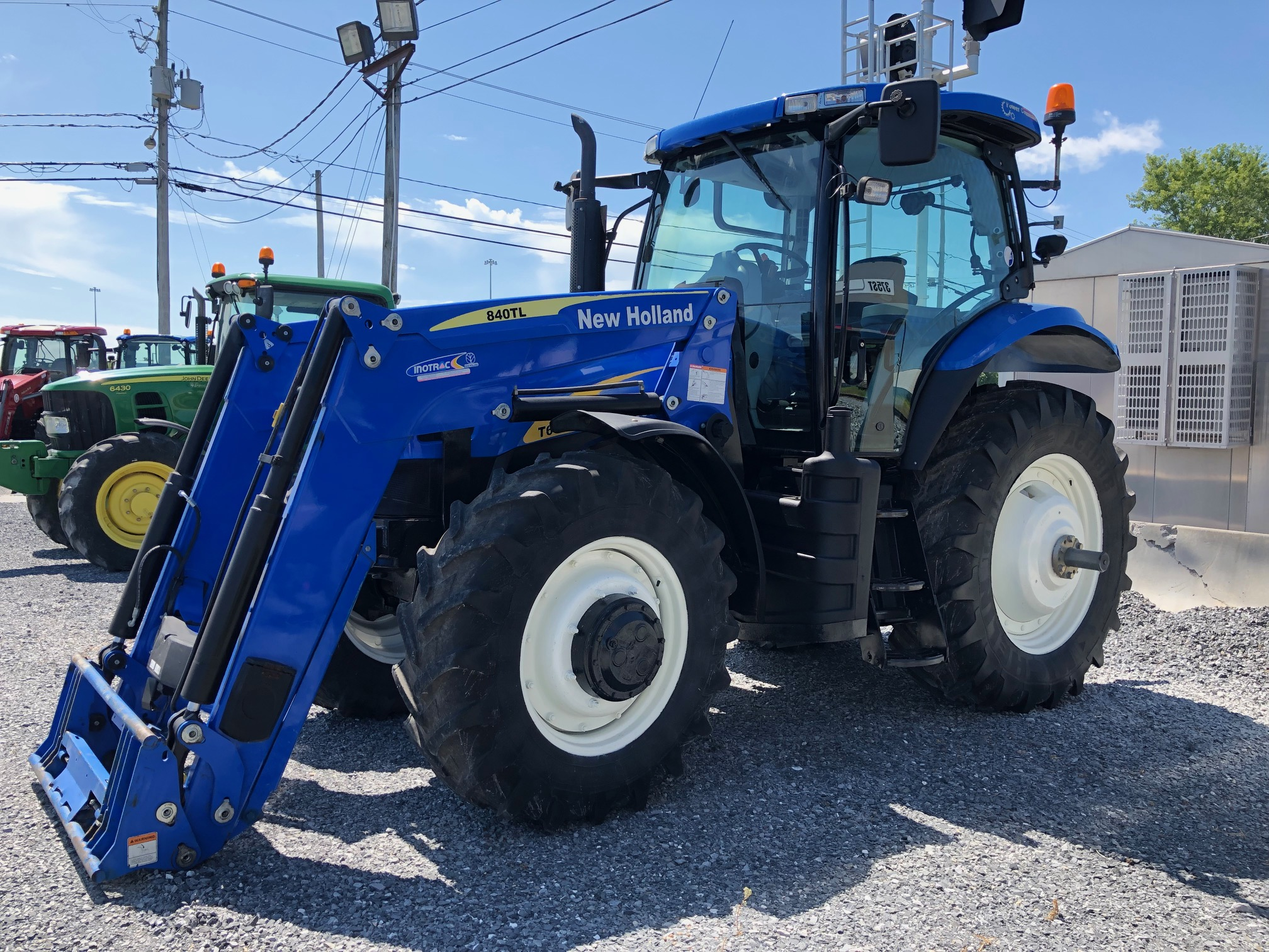 Tracteur New Holland 6030 Elite