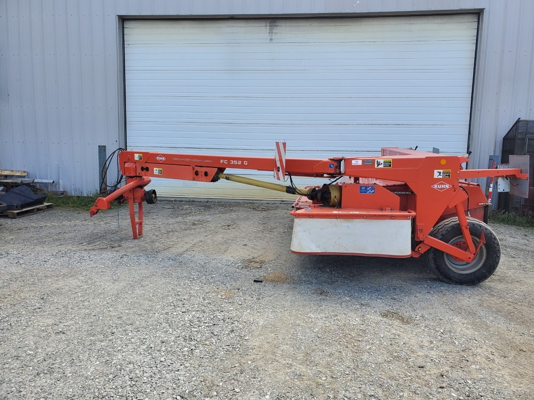 Faucheuse conditionneuse Kuhn FC352