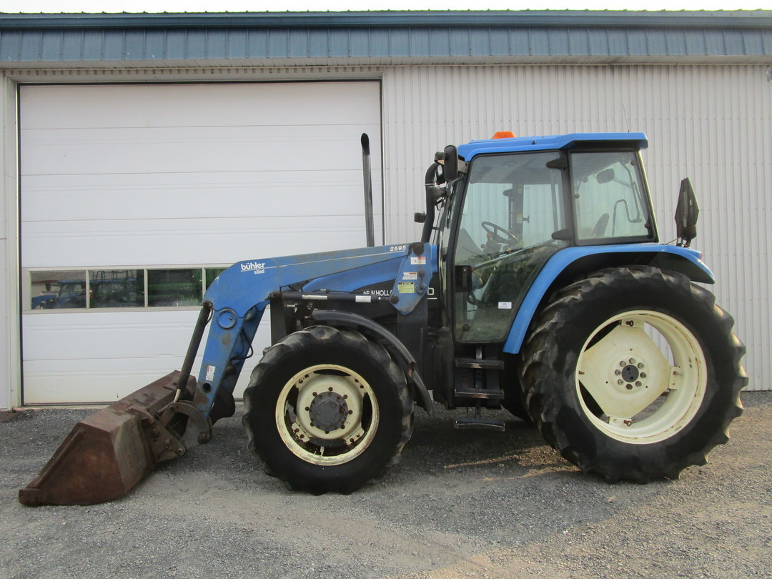 Tracteur New Holland TS110