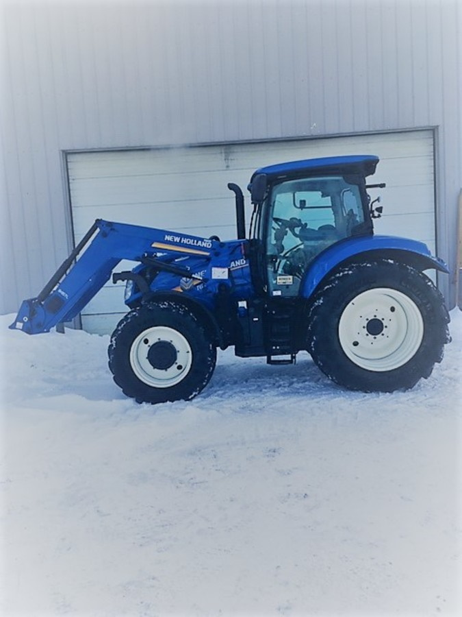 Tracteur New Holland T6.165