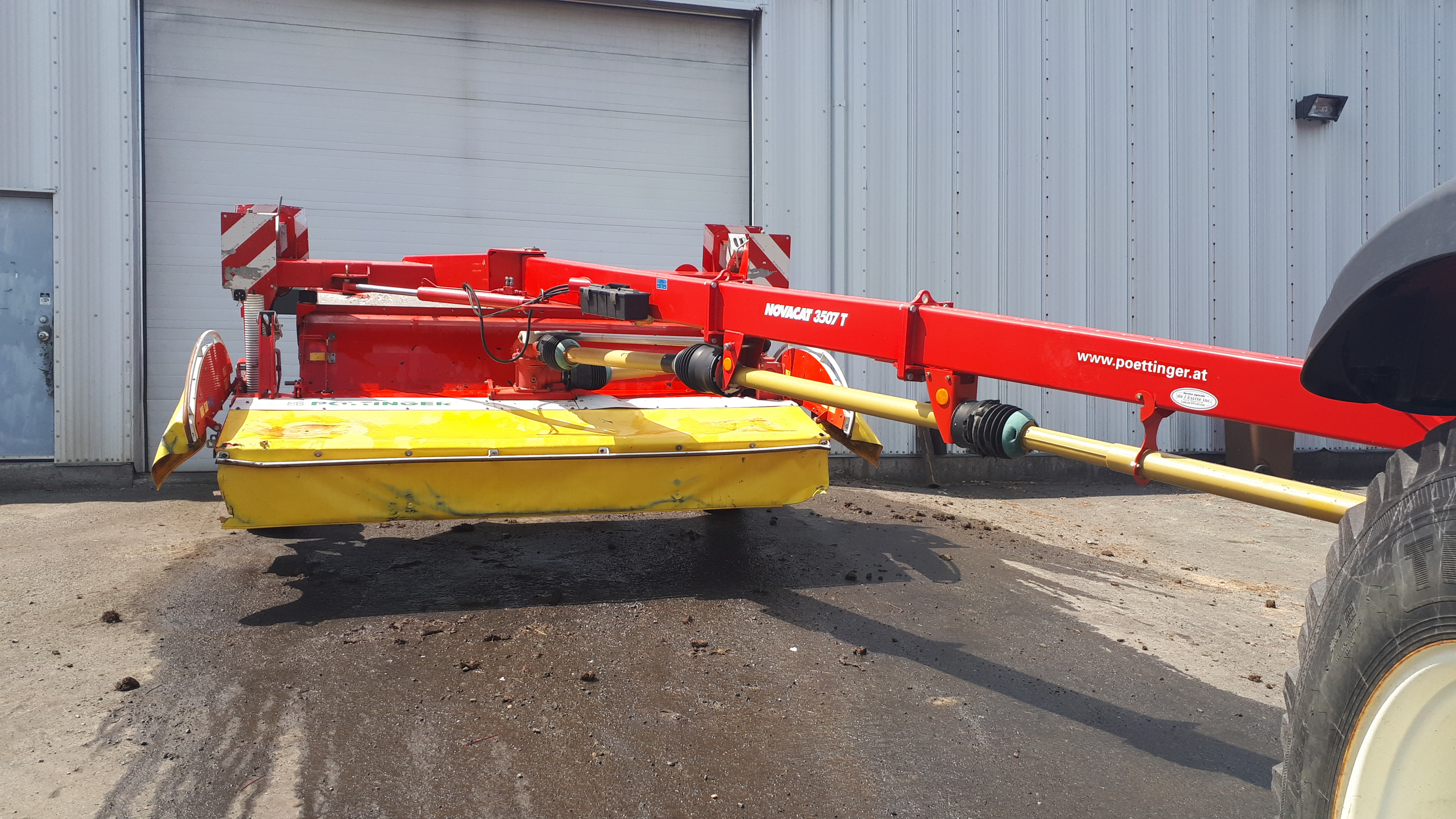 Faucheuse conditionneuse Pottinger 3507T